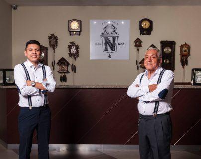 Noé y Sergio Rodríguez: artesanos del tiempo