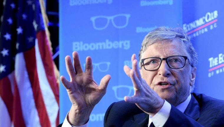 Bill Gates, cofundador de Microsoft. (Foto Prensa Libre: EFE)