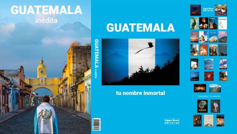 Guatemala Inédita es el nombre de este libro que guarda parte de la historia que ha vivido Guatemala en el 2020. (Foto Prensa Libre: Guatemala Inédita)