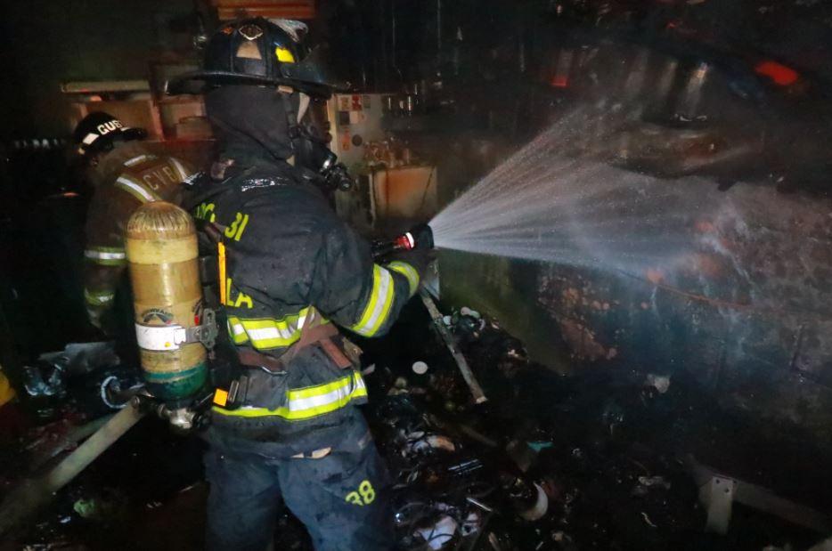 Incendio consume local donde funciona la Olla Comunitaria de Rayuela y este domingo sería la reapertura