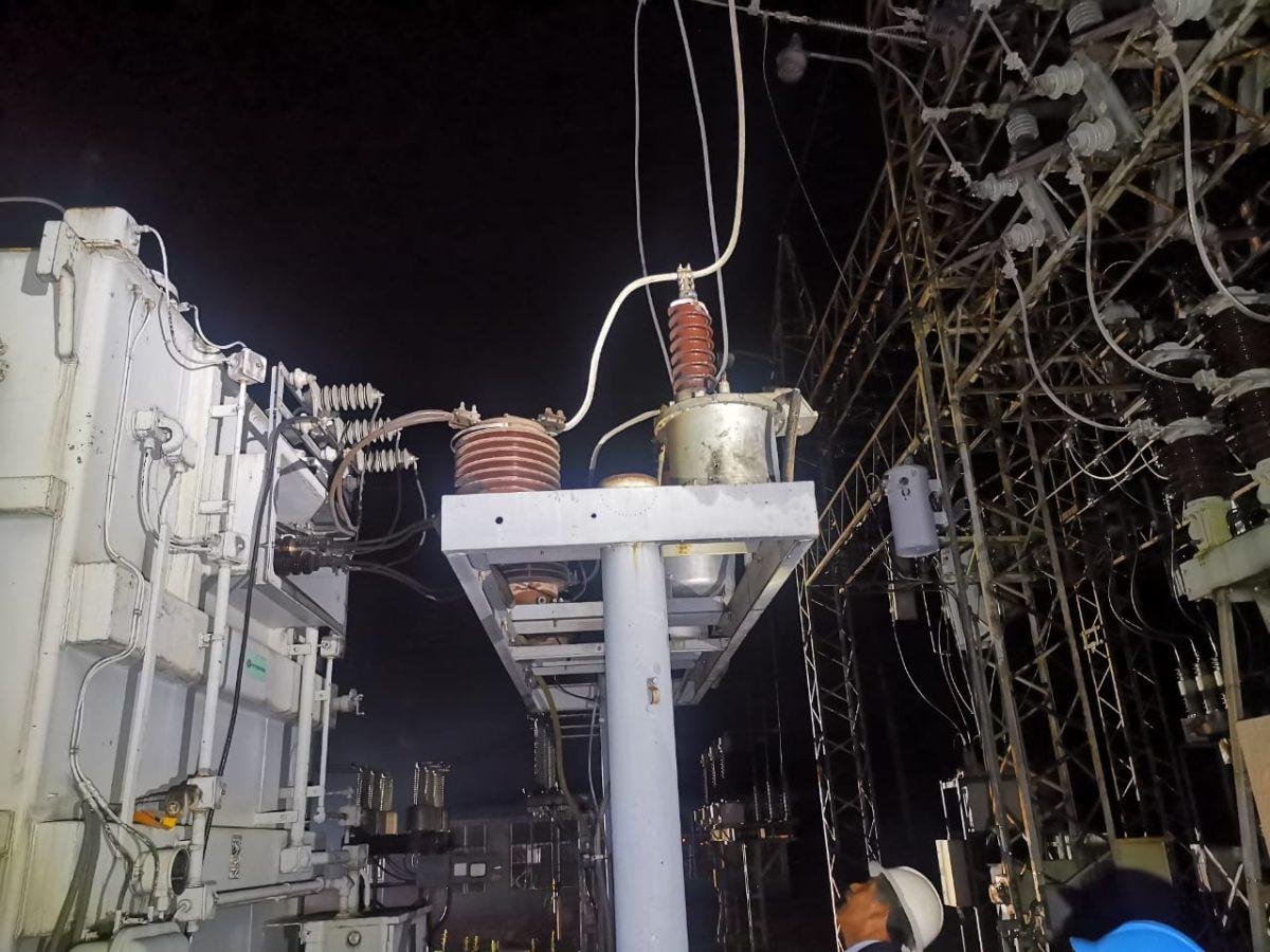 Un balazo a una subestación deja sin energía eléctrica a 8 municipios