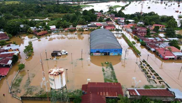 Izabal y Alta Verapaz son dos de los departamentos más impactados por las tormentas Eta e Iota. (Foto, Prensa Libre: Hemeroteca PL).