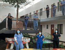 Los médicos están al frente para atender la pandemia del coronavirus en Guatemala. (Foto Prensa Libre: Hemeroteca PL)