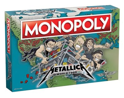 Monopoly lanza la edición Metallica World Tour. (Foto Prensa Libre: Metallica.com)