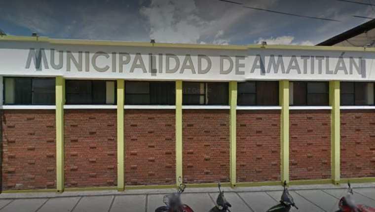 Municipalidad de Amatitlán. (Foto Prensa Libre: Tomada de Google)