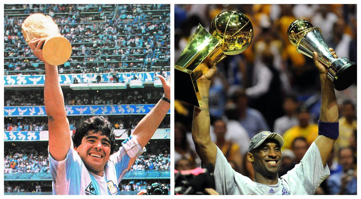 Maradona y Kobe Bryant, pérdidas galácticas en el año del coronavirus