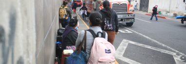 La división de transporte incidió en el comportamiento de precios en febrero, señala el IPC. (Foto Prensa Libre: Hemeroteca)