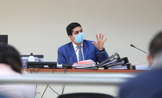 El juez Mynor Moto busca ocupar la vacante de la magistratura titular en la Corte de Constitucionalidad.(Foto: Hemeroteca PL)