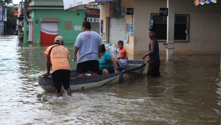 Los Amates, Izabal, es uno de los departamentos más afectados en Guatemala por las lluvias de Eta y los remanentes de Iota. (Foto: HemerotecaPL)
