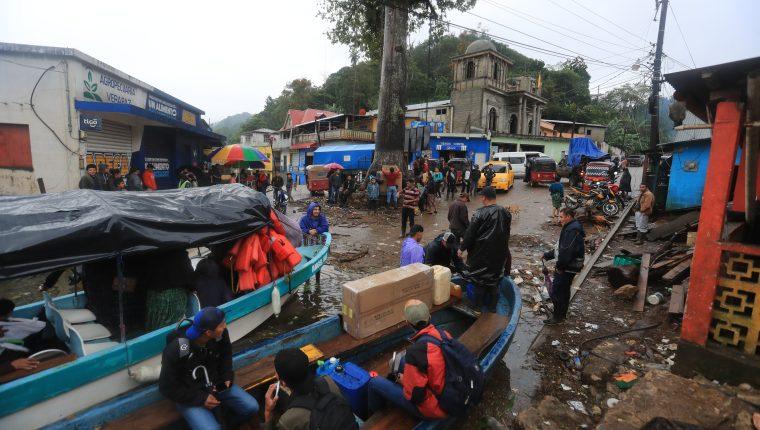 Campur, una comunidad de San Pedro Carchá, Cobán, quedó inundada tras el paso de las tormentas Eta e Iota. Se estima que más de 500 viviendas quedaron bajo el agua. (Foto Prensa Libre: Hemeroteca PL)