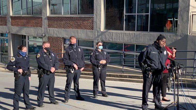 Las autoridades creen que el posible autor del ataque pudo morir en la explosión de este viernes en el centro de Nashville. (Foto Prensa Libre: Policía de Nashville)
