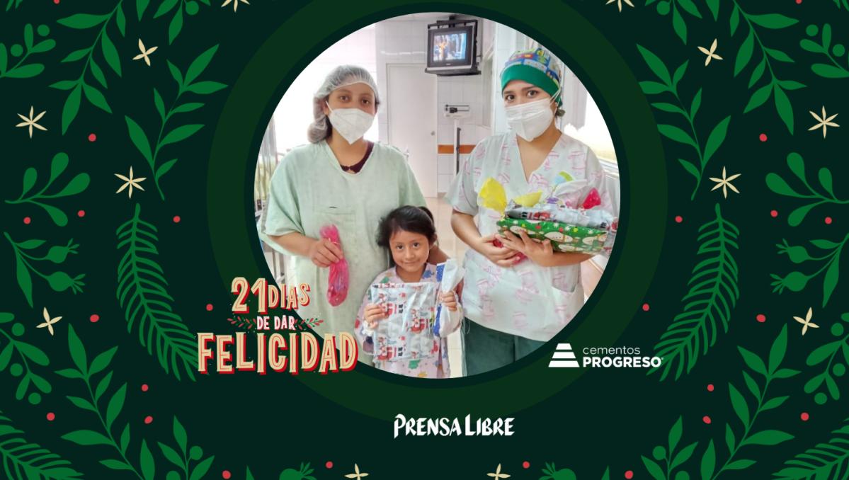 Día 19: Santa Claus lleva alegría a los niños del Hospital Roosevelt