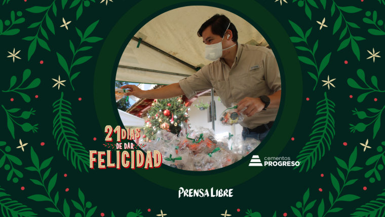 Trabajadores de Cementos Progreso participaron en la entrega de juguetes a niños de  las comunidades cercanas a la planta San Gabriel. (Foto Prensa Libre: Jorge Ovalle)