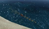 ¿Por dónde viene Santa Claus?