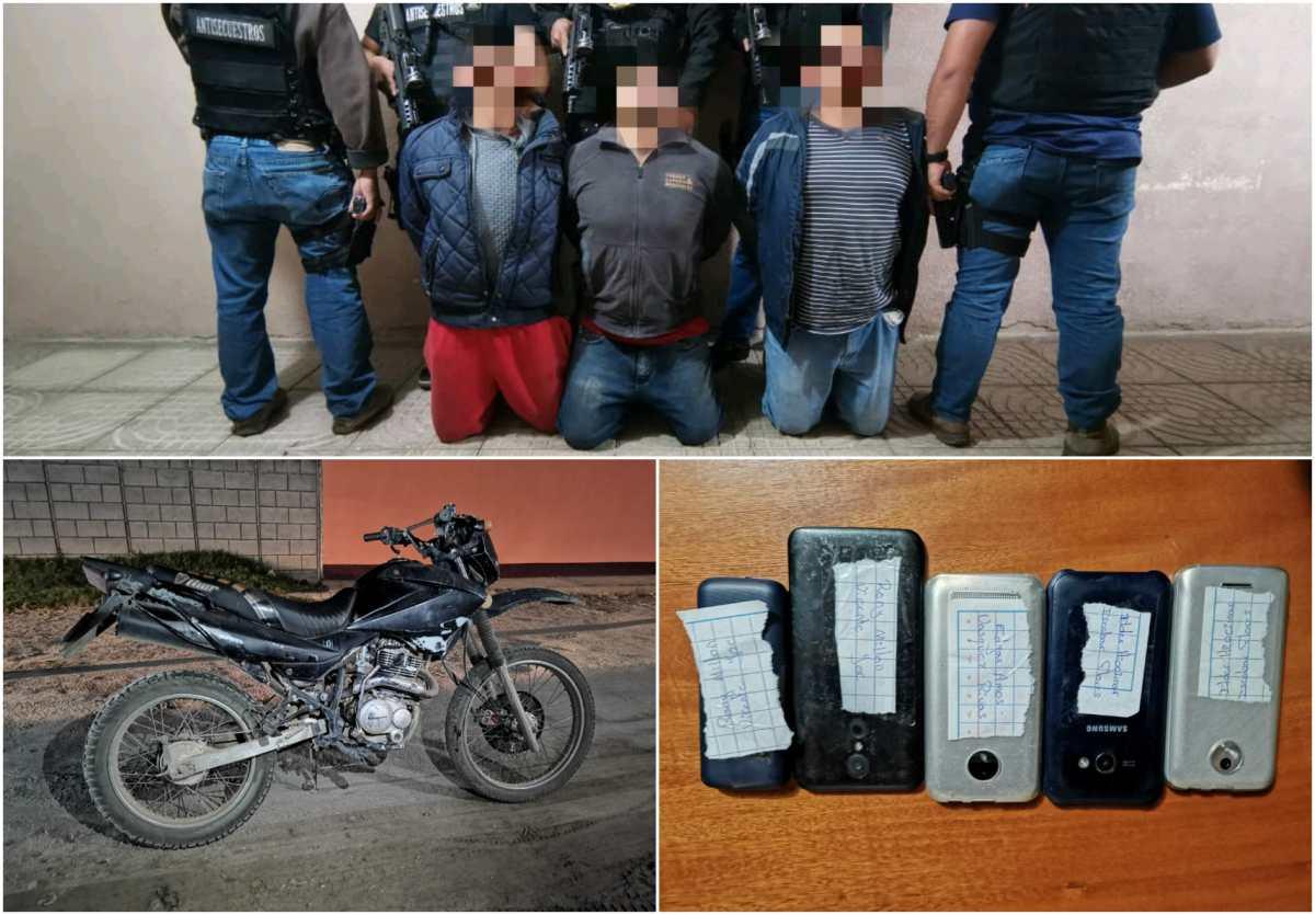 Secuestradores pedían más de Q1 millón y medio por liberar a una víctima en Xela