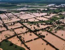 Daños ocasionados por la tormenta Eta en Puerto Barrios, Izabal. (Foto: Hemeroteca PL)