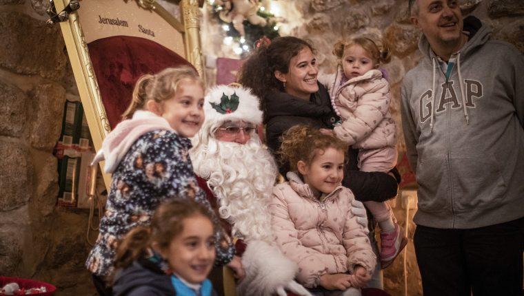El Papá Noel de Jerusalén