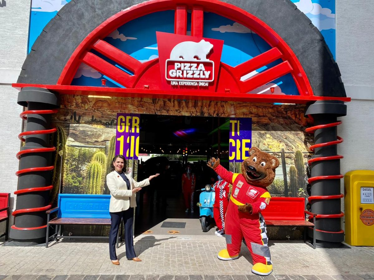 Pizza Grizzly: Ciudad Cayalá tiene una nueva aventura