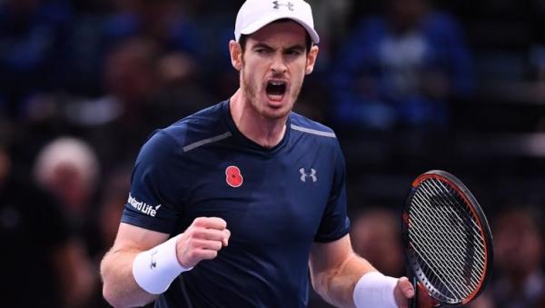 Andy Murray dio positivo de covid-19 y está en duda su participación al Abierto de Australia. (Foto Prensa Libre: AFP)