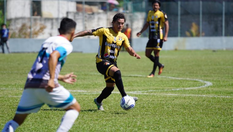 Aurora FC se convirtió en el primer equipo clasificado a la final del actual torneo de la Primera División, gracias a un marcador global de 2-0 sobre Puerto San José. (Foto Prensa Libre: Cortesía Aurora FC)
