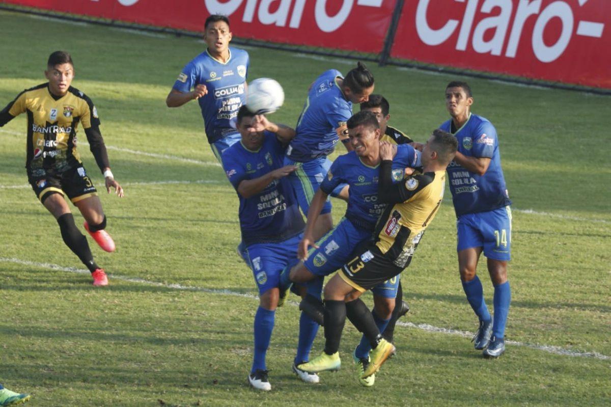 Primera División: Aurora FC toma ventaja de un gol ante CSD Sololá en la final de ida