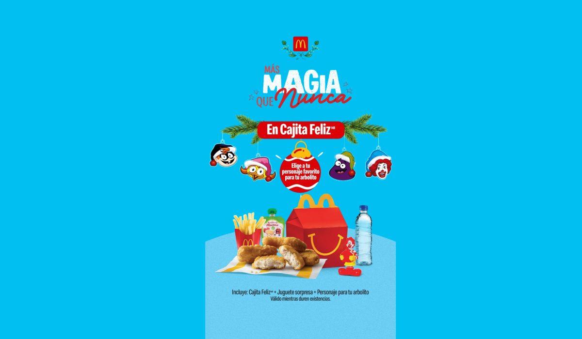 McDonald´s continúa con la magia en la época navideña