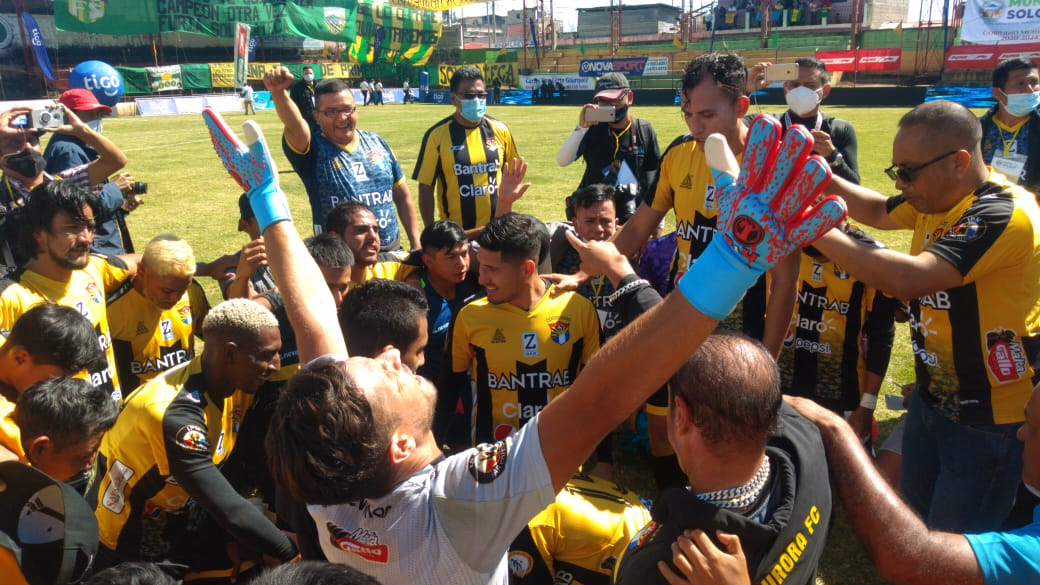Aurora FC vence a Sololá y se corona campeón de la Primera División