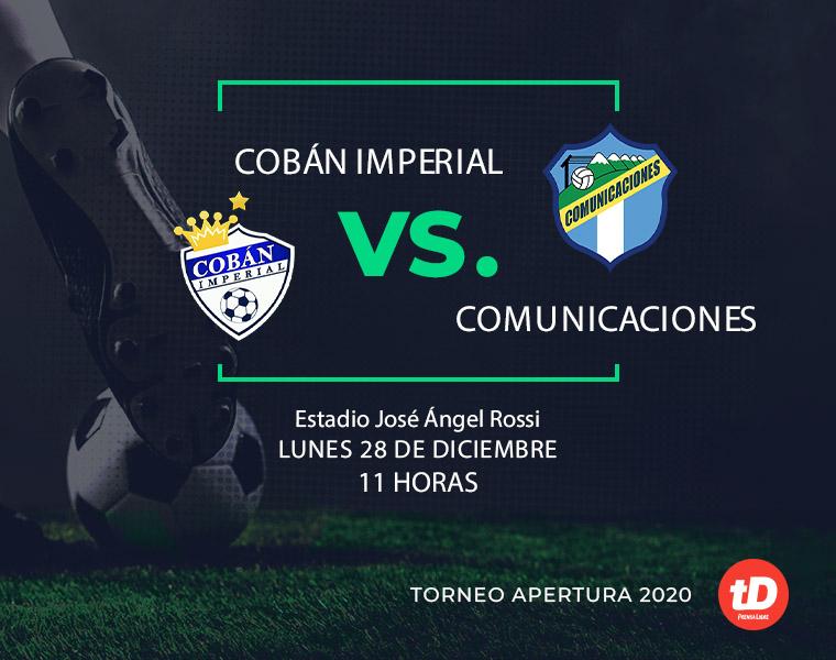 EN DIRECTO | Cobán Imperial vs Comunicaciones FC