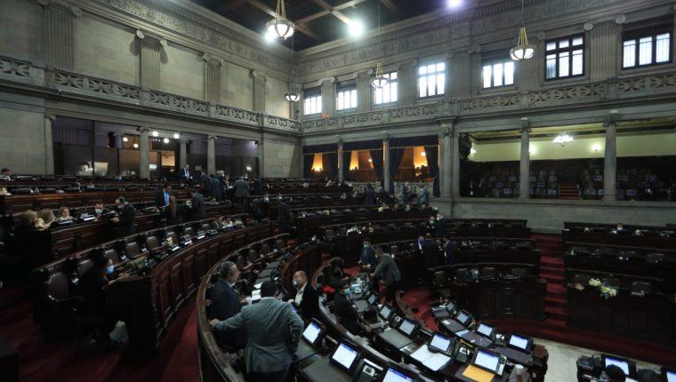 Diputados en la sesión extraordinaria de este 16 de diciembre. (Foto: Byron García)