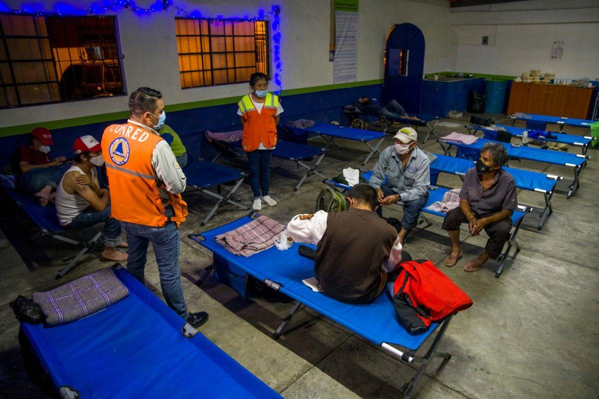 Más de 133 mil guatemaltecos pasarán la Navidad en albergues