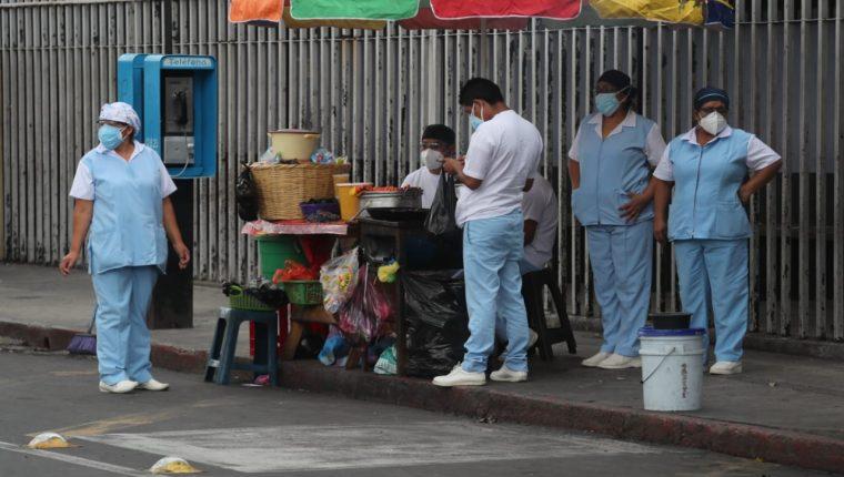 Guatemala registra repunte de casos de coronavirus. (Foto Prensa Libre: Hemeroteca PL)