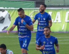 Danilo Guerra anotó el único gol del encuentro entre Antigua GFC y Cobán Imperial. (Foto Prensa Libre: Cortesía Cobán Imperial)