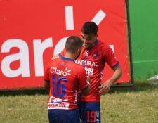Ramiro Rocca llegó a 21 goles en el actual Torneo Apertura. (Foto Prensa Libre: Cortesía Andrés ADF)