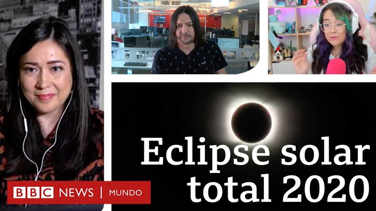 En vivo: eclipse solar total 14 diciembre 2020