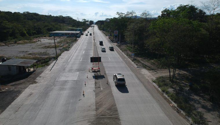 La infraestructura vial y el crimen organizado siguen siendo desventajas para la competitividad según el informe mundial 2020. (Foto, Prensa Libre: Hemeroteca PL).