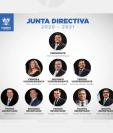Junta Directiva del Congreso 2020-2021, donde el diputado Santiago Nájera ocupa el cargo de quinto secretario.