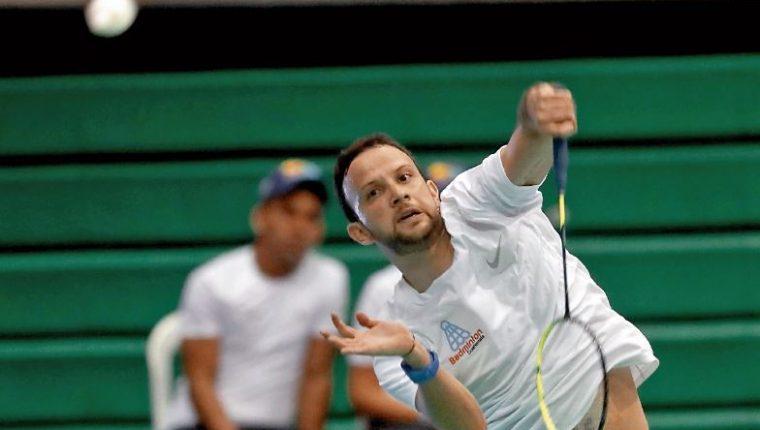 Kevin Cordón  asegura su clasificación a los Juegos Olímpicos de Tokio. (Foto Prensa Libre: Hemeroteca PL)
