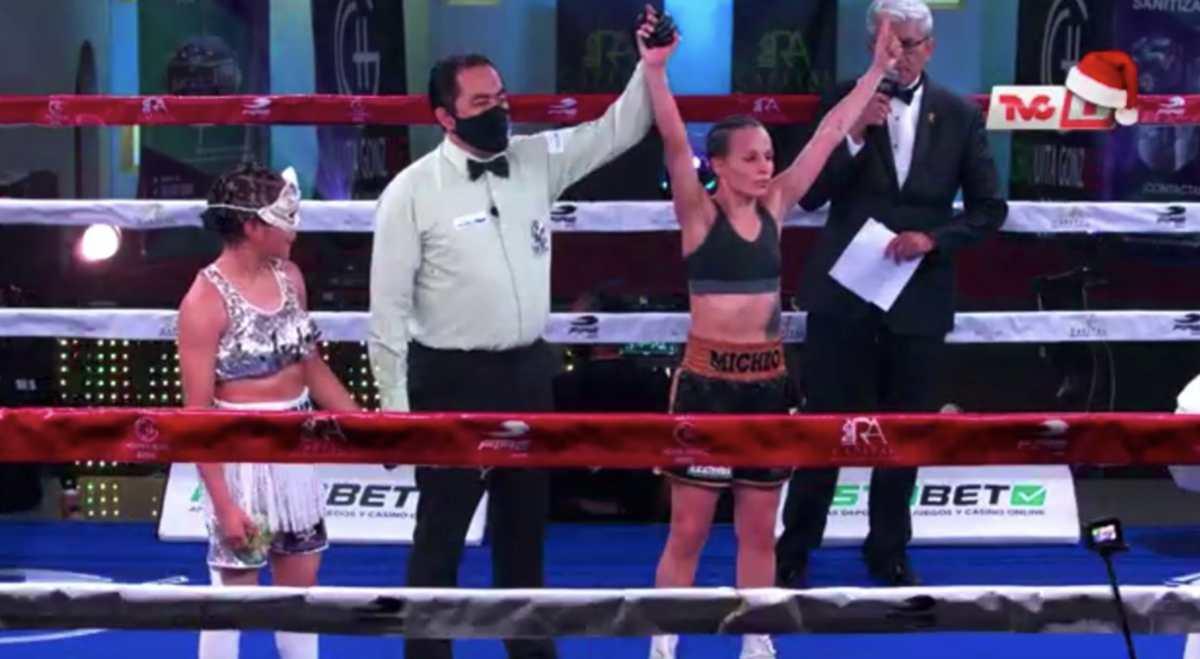 Video: María Micheo mantiene su invicto profesional al vencer a la mexicana Judith Vivanco