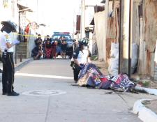 La niña fue encontrada en la zona 18. (Foto: Bomberos Voluntarios)