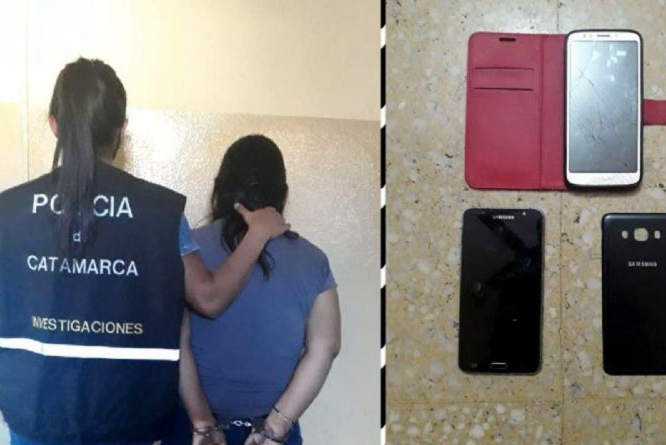 Sospechosos mensajes permitieron la captura de una mujer de 40 años que enviaba fotos a un menor de edad