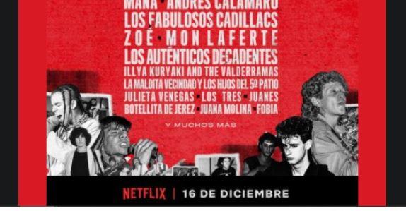 """""""Rompan todo"""": llega el documental de Netflix que rinde tributo a los mejores del rock latino"""