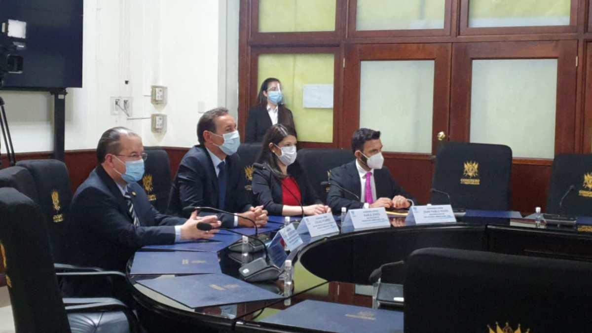 Allan Rodríguez a la OEA: encontramos una elección de cortes entrampada