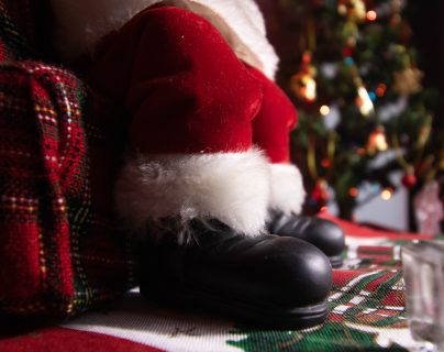 Santa Claus cambia el trineo por las videoconferencias