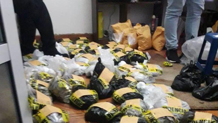 Indicios incautados en la casa donde Carías aparentemente se suicidó. (Foto: PNC)