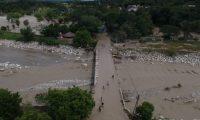 El paso de Eta dejó destrucción en Guatemala. (Foto Prensa Libre: Hemeroteca PL)