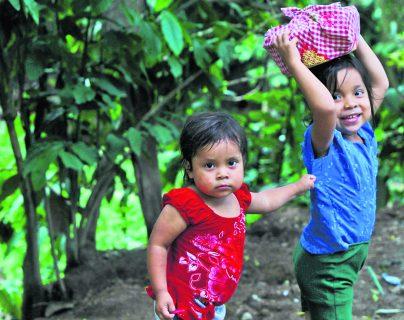 Guatemala ocupa la primera posición de retraso de crecimiento en niños menores de cinco años, entre los países de Latinoamérica. (Foto Prensa Libre: Hemeroteca PL)