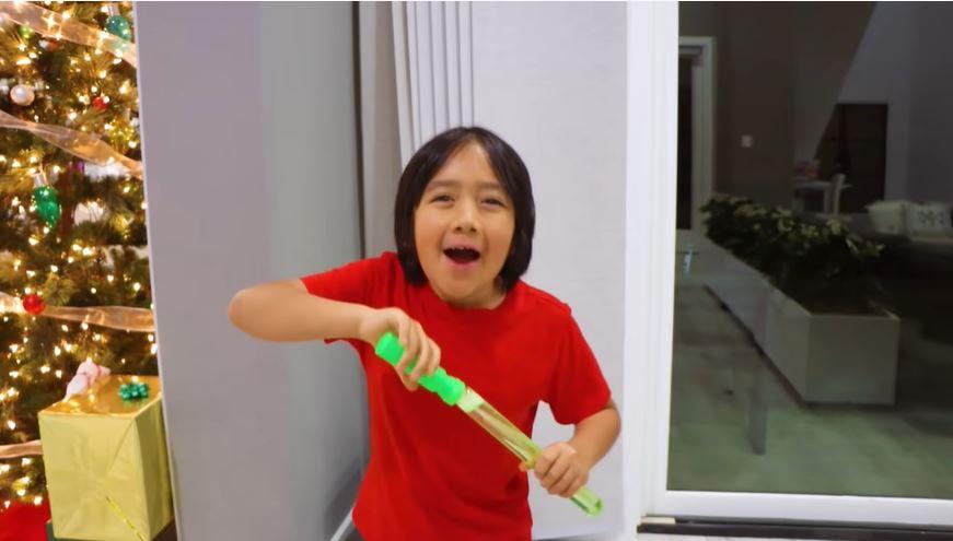 Un niño de 9 años que es considerado el youtuber mejor pagado del 2020