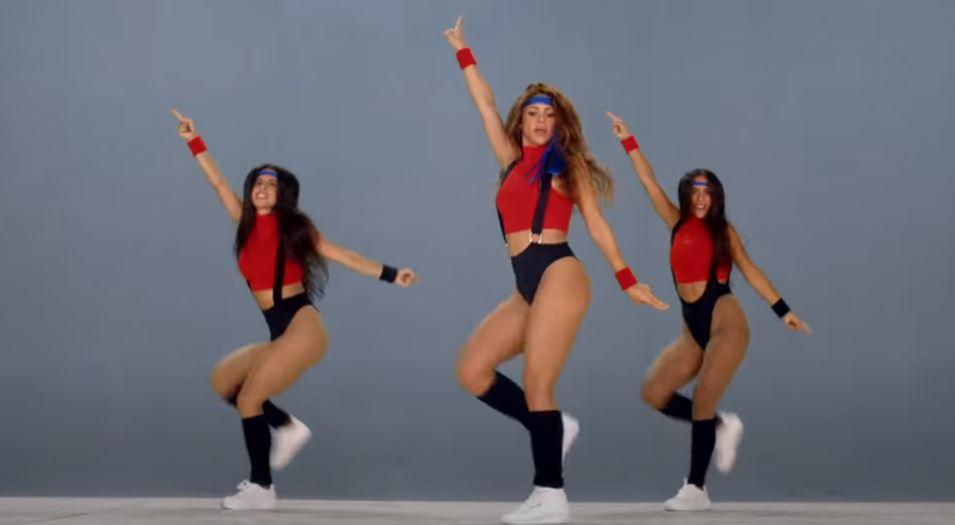 El baile ochentero de Shakira para The Black Eyed Peas se hace viral y revienta TikTok