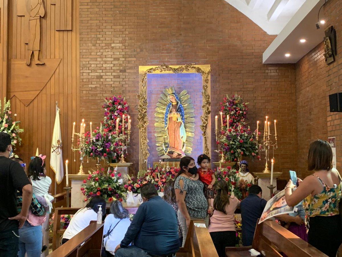 En imágenes: Día de la Virgen de Guadalupe en Guatemala 2020