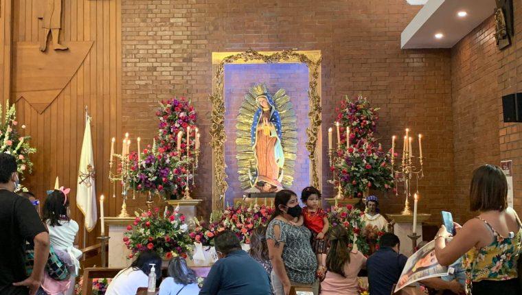 Parroquia Nuestra Señora de Guadalupe La Villa, zona 10. (Foto: Elmer Vargas)